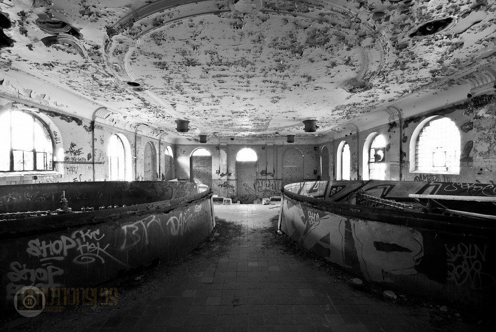 Dokumentation der alten Brauerei Friedrichshein in Berlin für D